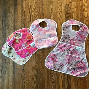 Bumkins Waterproof Bib Bundle Girls